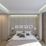 спальня в номере Люкс (Luxe)
