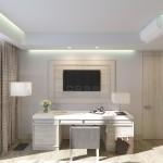 гостиная в номере Люкс (Luxe)